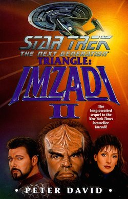 Triangle Imzadi II 2 Peter David Star Trek The Next Generation