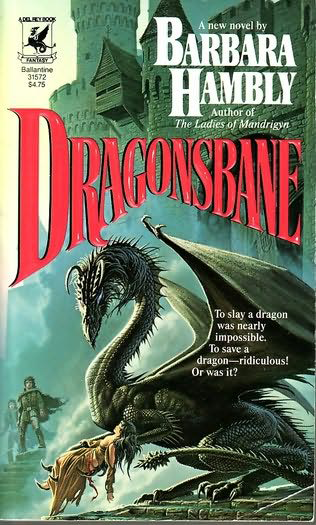 Dragonsbane, cover by Michael Welan