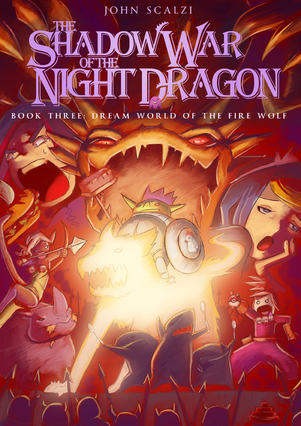 The Shadow War of the Night Dragon manga by John Scalzi