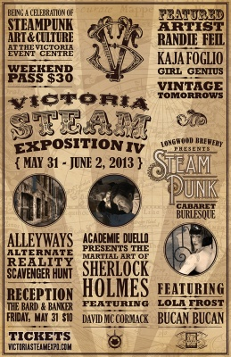 Steampunk events for May 2013