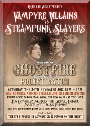 Steampunk Events for November 2012