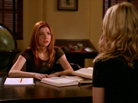 Buffy the Vampire Slayer, Conversations With Dead People, Willow