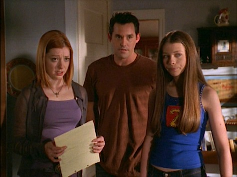 Buffy the Vampire Slayer, Flooded, Wiloow, Dawn, Xander