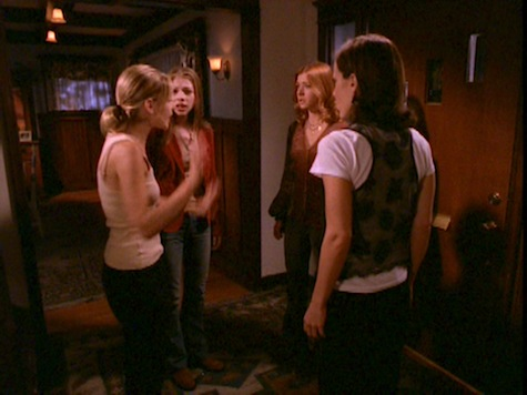 Buffy the Vampire Slayer, Him, Dawn, Willow, Anya
