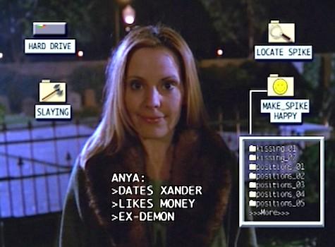 Buffy the Vampire Slayer, Intervention, Anya