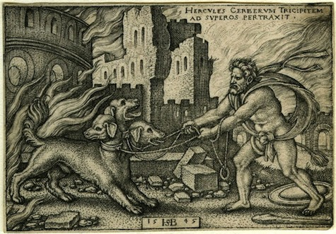 Hercules and Cerberus