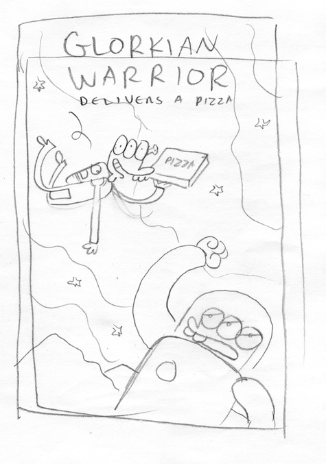 Glorkian Alternate Cover