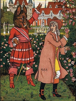 Walter Crane - Beauty and The Beast