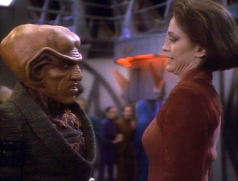 Star Trek: Deep Space Nine rewatch on Tor.com: Emissary