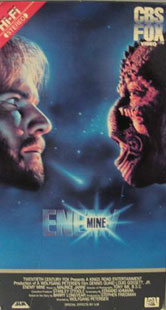 Enemy Mine VHS Cover