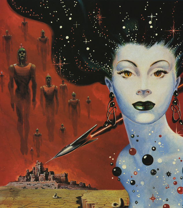 Kelly Freas' Lorelei of the Red Mist.