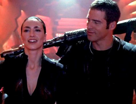 Farscape, Infinite Possibilities: Daedalus Demands, Crichton, Aeryn