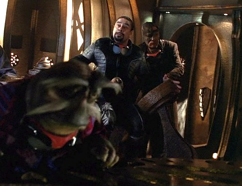 Farscape, Infinite Possibilities: Daedalus Demands, Crais, Stark, Rygel