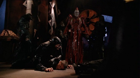 Farscape, We're So Screwed III: La Bomba, Scorpius, Crichton, Staleek