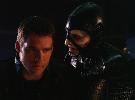 Farscape, Into the Lion's Den I: Lambs to the Slaughter, Scorpius, Crichton