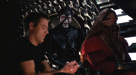Farscape, Mental As Anything, Crichton, Scorpius, D'Argo