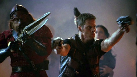 Farscape: The Peacekeeper Wars, Crichton, D'Argo