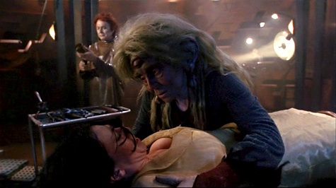 Farscape, We're So Screwed I: Fetal Attraction, Noranti, Aeryn