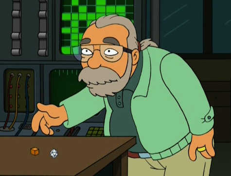 Gary Gygax Futurama