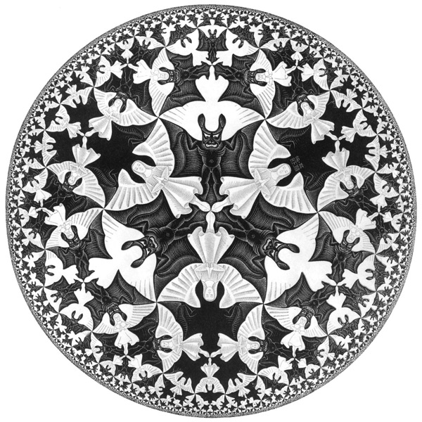 MC Escher, Angels and Devils