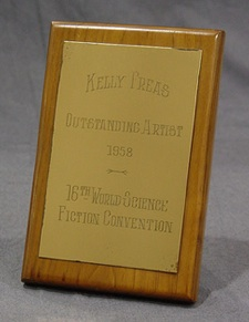 1957 Hugo Awards Trophy