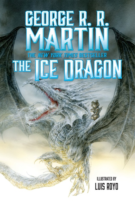 The Ice Dragon George R. R. Martin Luis Royo final cover