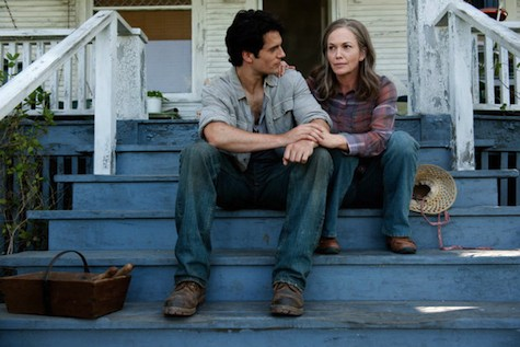 Man of Steel, Clark and Martha Kent