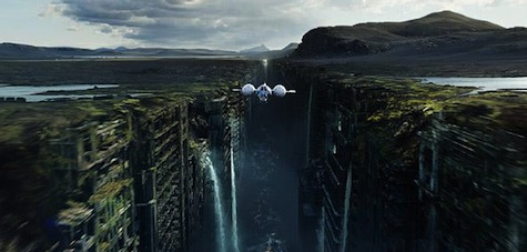 Oblivion Review Tom Cruise Morgan Freeman Andrea Riseborough Olga Kurylenko Nikolaj Coster-Waldeau