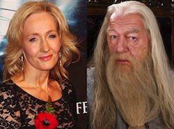 JK Rowling Dumbledore
