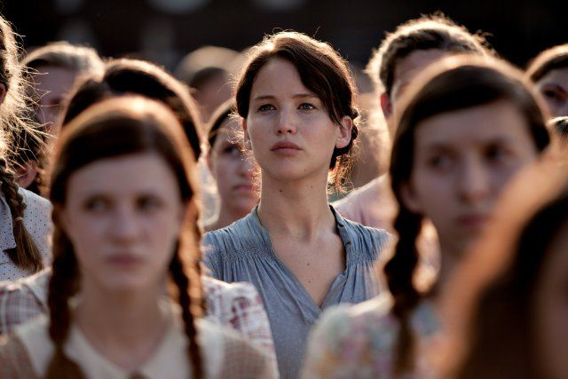 Katniss builds an alliance of women who support each other in the face of the Capitol's oppression.