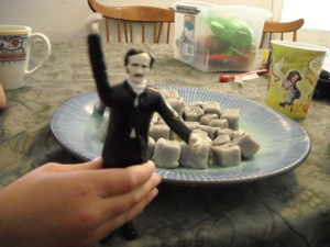 Even Edgar Allen Poe likes spoo!