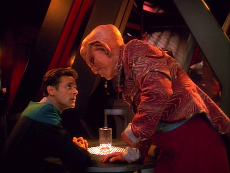 Star Trek Deep Space Nine, Explorers, Bashir, Quark