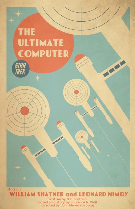 Juan Ortiz Star Trek art posters