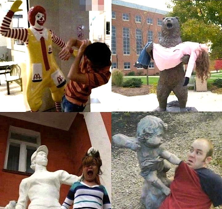 This is What Happens When Statues Come to Life
