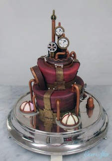 Steampunk Wedding Cake on Tor.com Steampunk