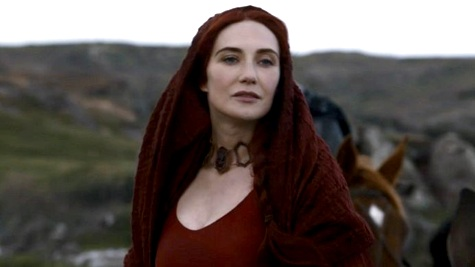Villain Fashion, Game of Thrones, Melisandre