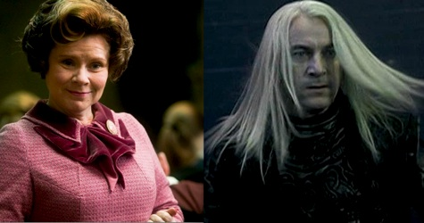 Villain Fashion, harry potter, dolores umbridge, lucius malfoy