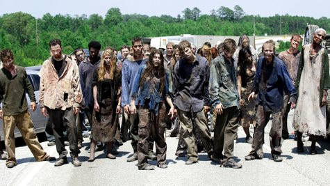 The Walking Dead, zombie numbers