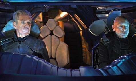 X-Men Days of Future Past, Charles Xavier, Patrick Stewart, Magneto, Ian McKellen