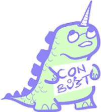 Con or Bust logo