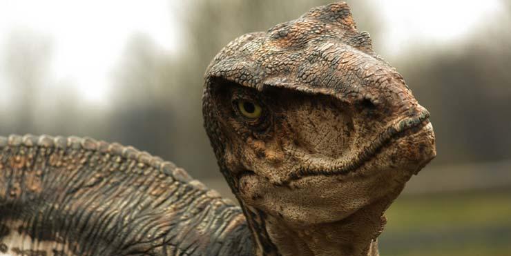 Jurassic World raptor