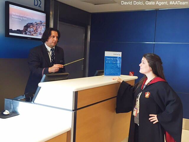 Severus Snape American Airlines