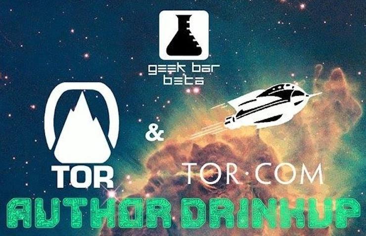 Tor author drinkup Nebula Awards weekend Chicago