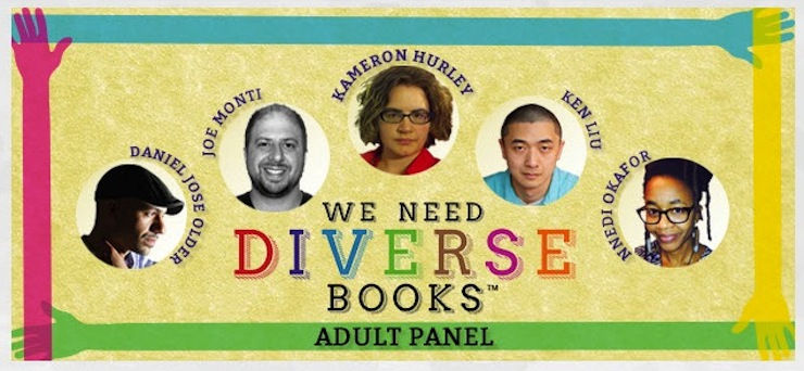 We Need Diverse Books Presents In Our World and Beyond BookCon 2015