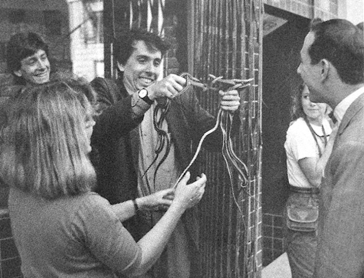 A Young Tim Burton Learns That Hollywood is a Snake Pit