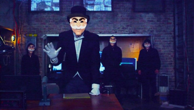 Mr. Robot season 1 finale reinventing cyberpunk
