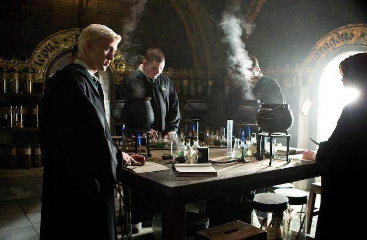 Slytherin House, Malfoy, Potions