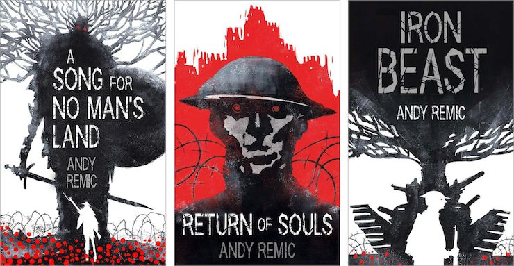 Revealing the Covers for Andy Remic's Song for No Man's Land Trilogy