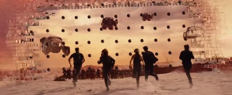 Allegiant trailer Divergent