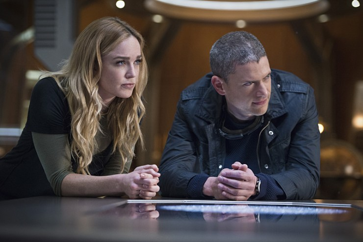 "That Was Cold: Legends of Tomorrow, ""White Knights"""